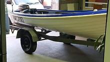 boat motor and trailer Caloundra Caloundra Area Preview