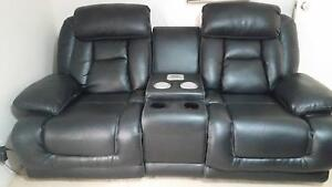 BLACK  2 SEATER ELECTRIC RECLINER MEDIA CHAIR-EXCELLENT CONDITION Upper Coomera Gold Coast North Preview