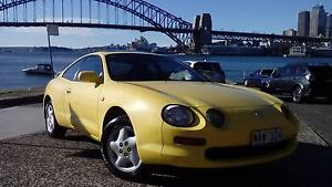 TOYOTA CELICA 1994 YELLOW MANUAL/ ALWAYS GARAGED/ SERVICED/ REGO Neutral Bay North Sydney Area Preview