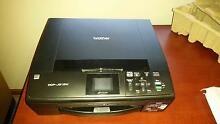 Brother DCP-J315W Wireless Inkjet Printer, Scanner. Orange Orange Area Preview