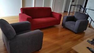 Three Piece Lounge Whitebridge Lake Macquarie Area Preview