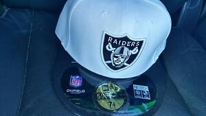 OAKLAND RAIDERS New Era Fitted NFL Cap Angle Park Port Adelaide Area Preview