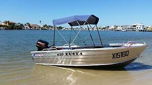 Quintrex 4.2 Busta as New used four times BETTER THEN NEW Warana Maroochydore Area Preview