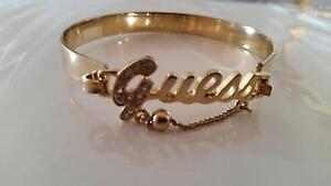 Authentic Goldtone GUESS drop Ball Diamantee Bracelet, New Rutherford Maitland Area Preview