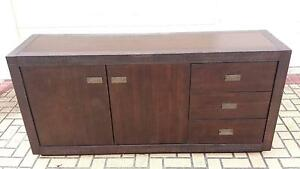 LARGE SOLID WOOD BUFFET, GC Greenslopes Brisbane South West Preview