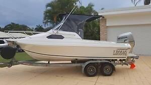Caribbean Concorde 5.5 meter with 135hp Honda Little Mountain Caloundra Area Preview
