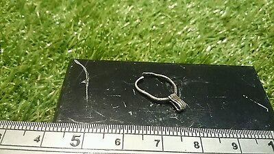 Beautiful wearable Viking Silver earring/amulet rare and stunning artifact UK