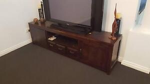 Large TV Cabinet - Dark brown Maryland Newcastle Area Preview