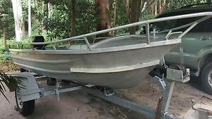 Mantacraft 12ft (3.6m) tinny with 6hp Evinrude outboard - tinnie Clifton Beach Cairns City Preview