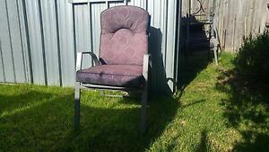 Padded outdoor dining chairs Ringwood North Maroondah Area Preview