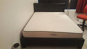 Queen bed matress  and base Woolner Darwin City Preview