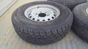Holden Rodeo Tyres with Rims 225/75R15C 6 stud patter Carrum Downs Frankston Area Preview