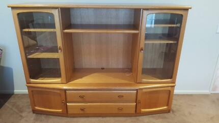 Book shelf, Coffee tables and Wall unit - Davies and Parker made