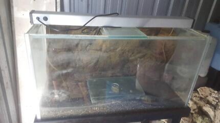 3 Foot Fish Tank 3D Universal Rocks Background