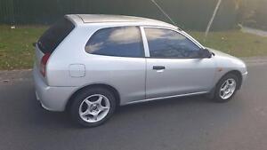 1997 Mitsubishi Mirage Hatchback.MAN.AIR.STEER.RWC.28/11/16 REGO. Bahrs Scrub Logan Area Preview