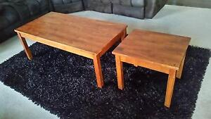 Matching Coffee Table & Lamp Table Echuca Campaspe Area Preview