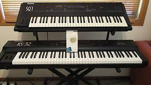 Ensoniq Keyboard Rack with 2 of their best synths + accessories Kulnura Gosford Area Preview