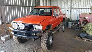 1985 Toyota Hilux Lifted V8 253 Mud Truck Ute Inglewood Goondiwindi Area Preview