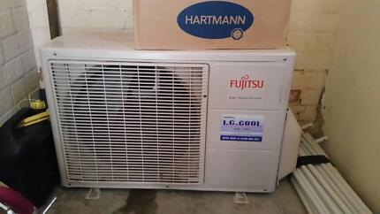 Fujitsu 3.5kw split system in imaculate condition