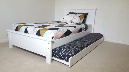 BAYSWATER KING SINGLE BED & S/TRUNDLE- AUST MADE - SALE PRICE