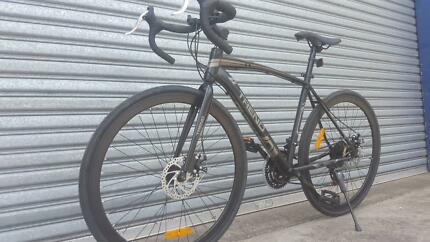 NEW ELITE 21 Speed Road Bike Shimano Gears - MATT BLACK