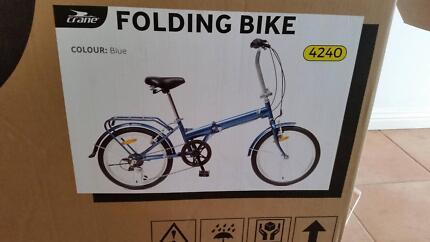 BIKE - NEW - UNUSED - Crane folding Bike
