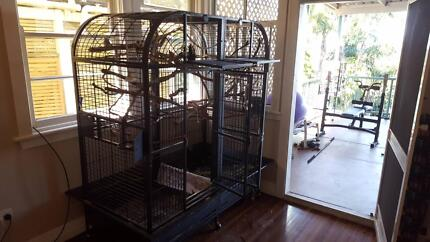 Double macaw cage Ballina Ballina Area Preview