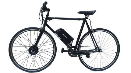 Electric bike fixie mens bike pedal assist and throttle Blackburn North Whitehorse Area Preview