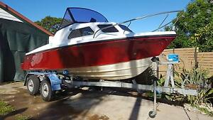 Custom Mustang Half Cabin Fishing Boat Sandgate Brisbane North East Preview