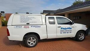 Toyota Hilux King Cab, Caddy Canopy, Flexiglass, Challenge Fremantle Fremantle Area Preview