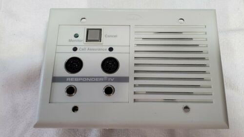 USED Rauland Borg Responder IV Dual Bed Station NCBSD2 WD KI-1923