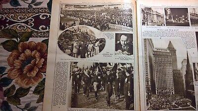 1922 Illustrierte 45 Stralsund Schwyz Berlin Johannistal Rumplerwerke / Neapel