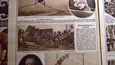 1922 Illustrierte 44 Rouffach St Denis Italien Faschisten Siders Hottingen