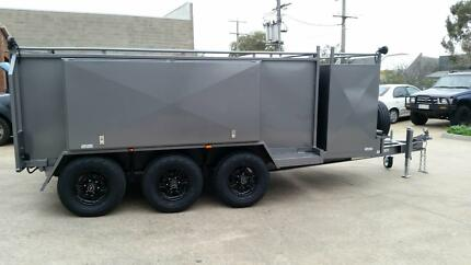 From $91 P/week on Finance* 12x6 Tri-Axle Mowing Tipper, 4.5t GVM