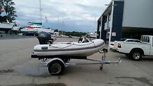 9 foot inflatable 20hp four stroke ,electric start, power trim. Coomera Gold Coast North Preview