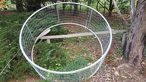 Round Bale Hay feeder holder for horses cattle sheep donkeys Kallista Yarra Ranges Preview