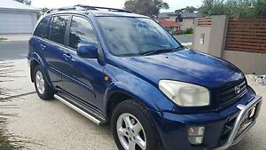 2001 Toyota RAV4 CRUISER 4X4 MANUAL (BLUE) Lathlain Victoria Park Area Preview