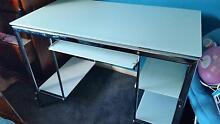 Frosted glass student desk with chair Melton Melton Area Preview
