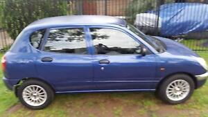 2000 DAIHATSU SIRION BLUE 14INCH MAGS  $2.500  ono OR SWAP Munno Para Playford Area Preview