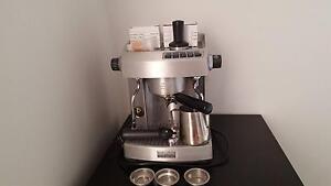 Sunbeam EM6910 Cafe Series espresso coffee machine Beaumont Hills The Hills District Preview