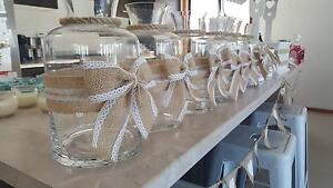 Glass votives in adelaide region sa gumtree australia free rustic wedding decorations package must see junglespirit Choice Image