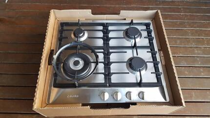 Miele 60cm 4 Burner Natural Gas Cooktop - Stainless Steel