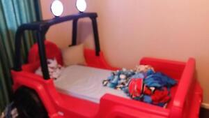 Jeep toddler bed Watson North Canberra Preview