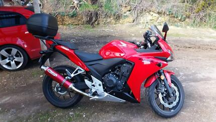 as new cbr500r Elizabeth Town Meander Valley Preview