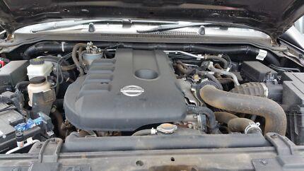 Nissan navara engine