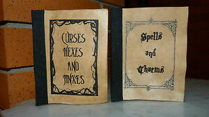 Harry Potter/Hogwards 2 books of Spells and Charms, and Curses, Hexes and Jinxes