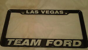 las vegas nv team ford dealership metal license plate frame tag holder. Cars Review. Best American Auto & Cars Review
