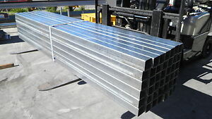 STEEL POSTS SHS GAL BOX SECTION 75X75 (NEW) 3.0 MTR LENGTHS