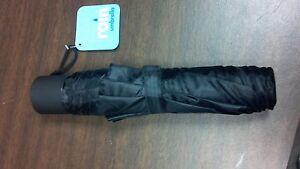 BLACK-Mini-Compact-Umbrella-36-5-034-Auto-Travel-Sport-Tote-bag-purse
