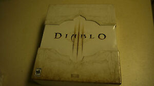 Complete Diablo III 3 Limited Collector's Edition PC/MAC 2012 NEW SEALED